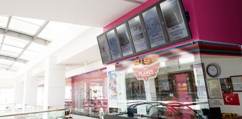 Favori Sinemaları Project Digital Signage