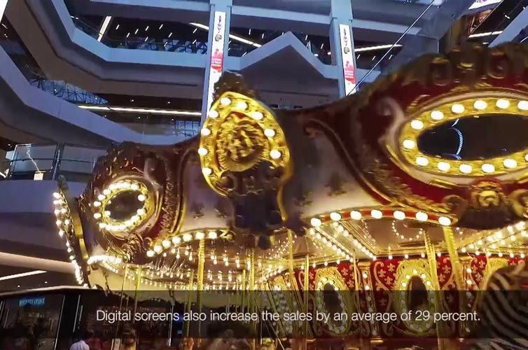 Carousel AVM Digital Signage Project